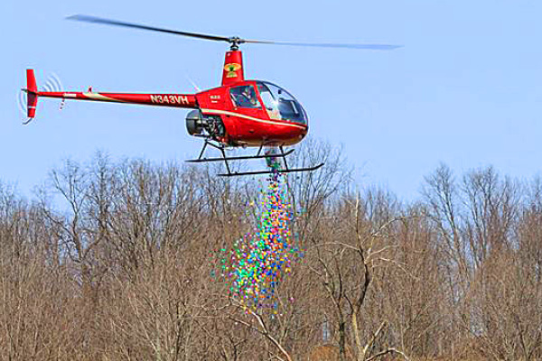Easter Egg Drop - The Farm