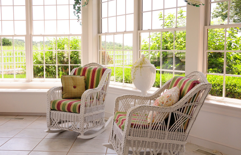 Enjoy the sunroom