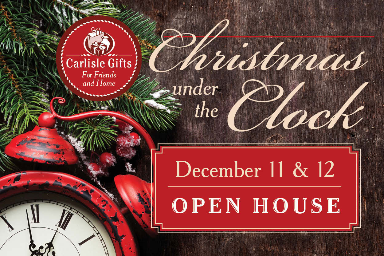 Carlisle Gifts Plain City - Christmas Under the Clock